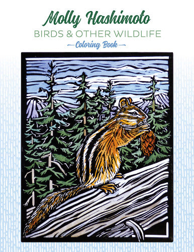 Molly Hashimoto's Birds & Other Wildlife Coloring Book