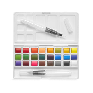 Chroma Blends Travel Watercolor Palette