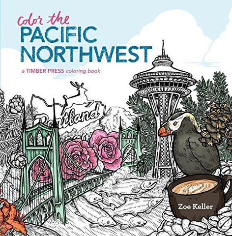 Color the Pacific Northwest Coloring Book