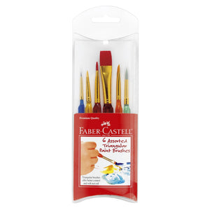 Triangular Handle Brush Set