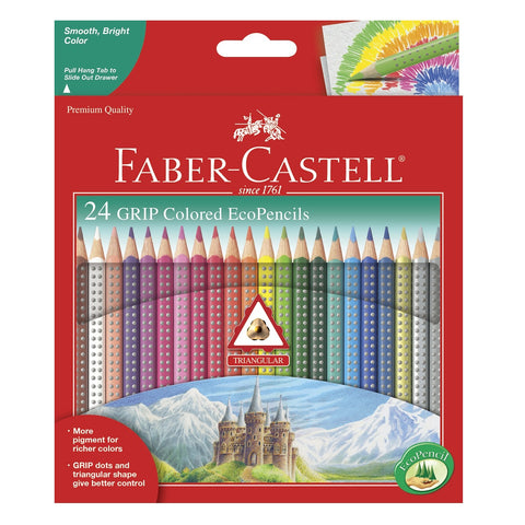 Ergonomic Watercolor Pencil Set