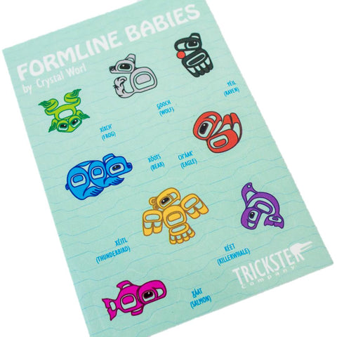 Formline Babies Sticker Sheet