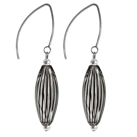 Soffia Filigrana Blown Glass Earring