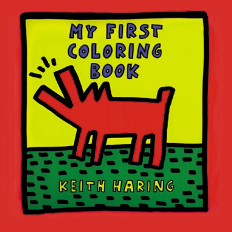Keith Haring's My First Coloring Book