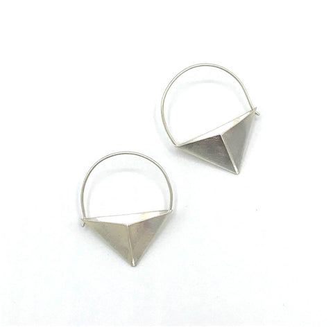 Triangle Bucket Earring