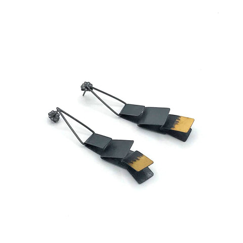 Square Folded Earring