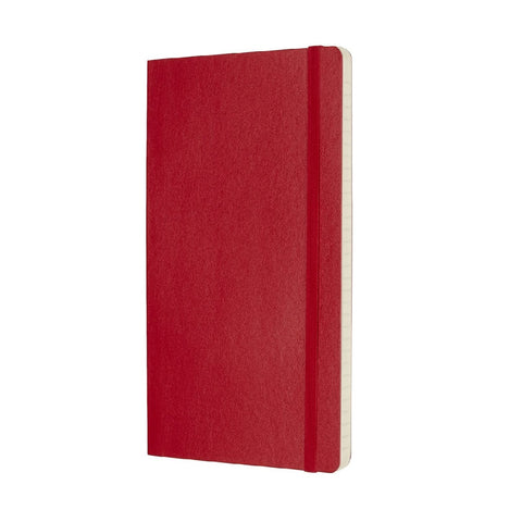 Moleskine Classic Scarlet Softcover Notebook