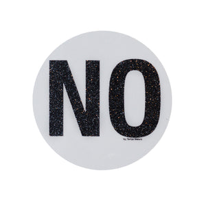 "SAM ""NO"" Sticker"