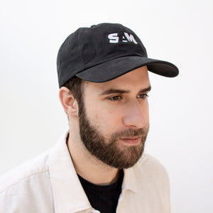 SAM Black Logo Cap