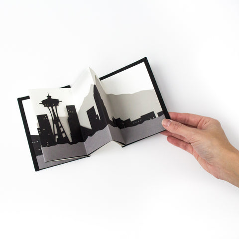 Seattle Skyline Folding Book