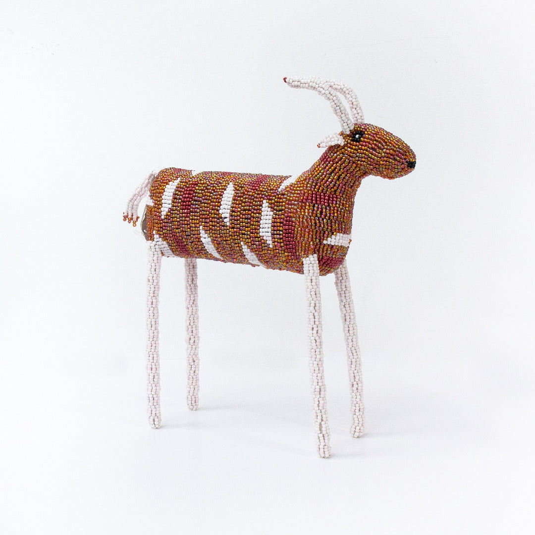 Beaded Animal Sculpture