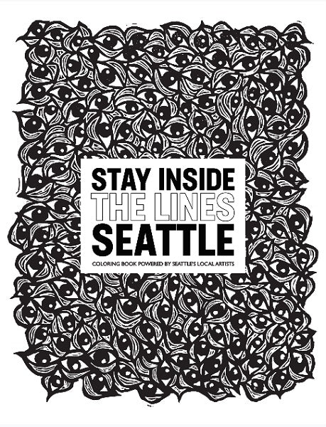Stay Inside the Lines Seattle Coloring Book