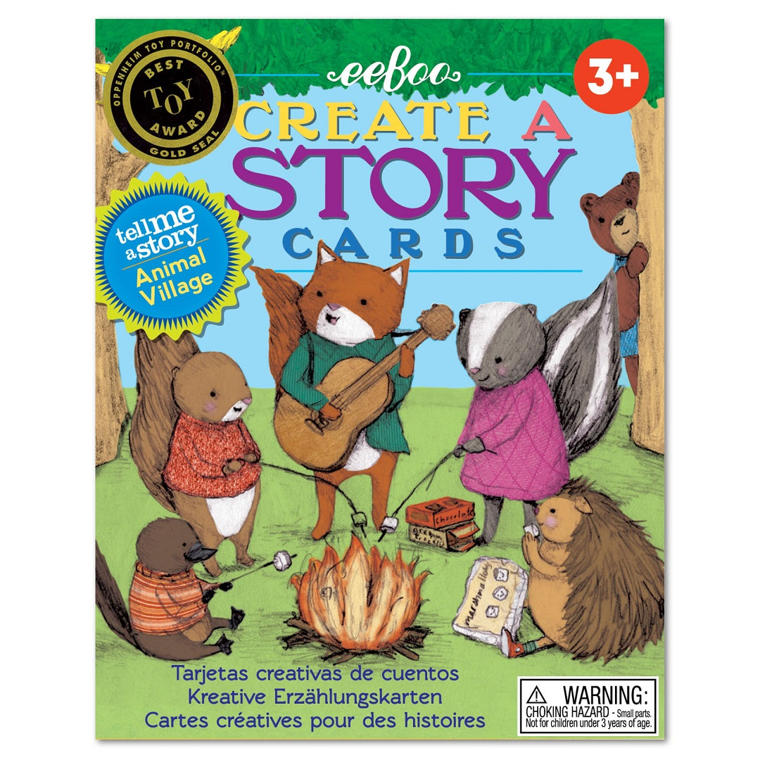 Animal Village Create a Story Cards