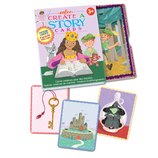 Fairy Tale Mix-Ups Create a Story Cards