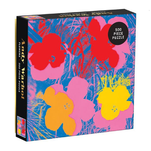 Warhol Flowers Puzzle