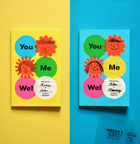 You Me We! Activity Book Set
