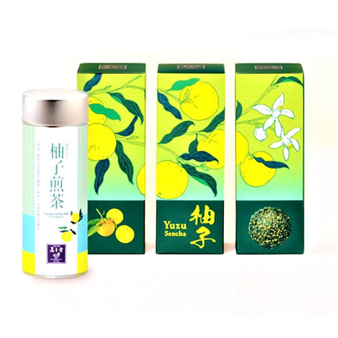 Yuzu Sencha Tea Tin
