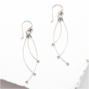 Sterling Silver Tickle Earring