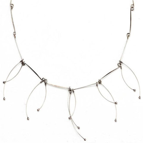 Sterling Silver Tickle Necklace