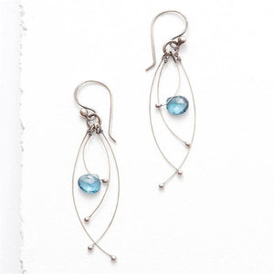 Blue Topaz Tickle Earring