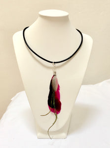 Feather Choker/necklace