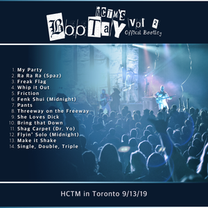 Bootay Vol. 2- HCTM in Toronto (Digital Download)