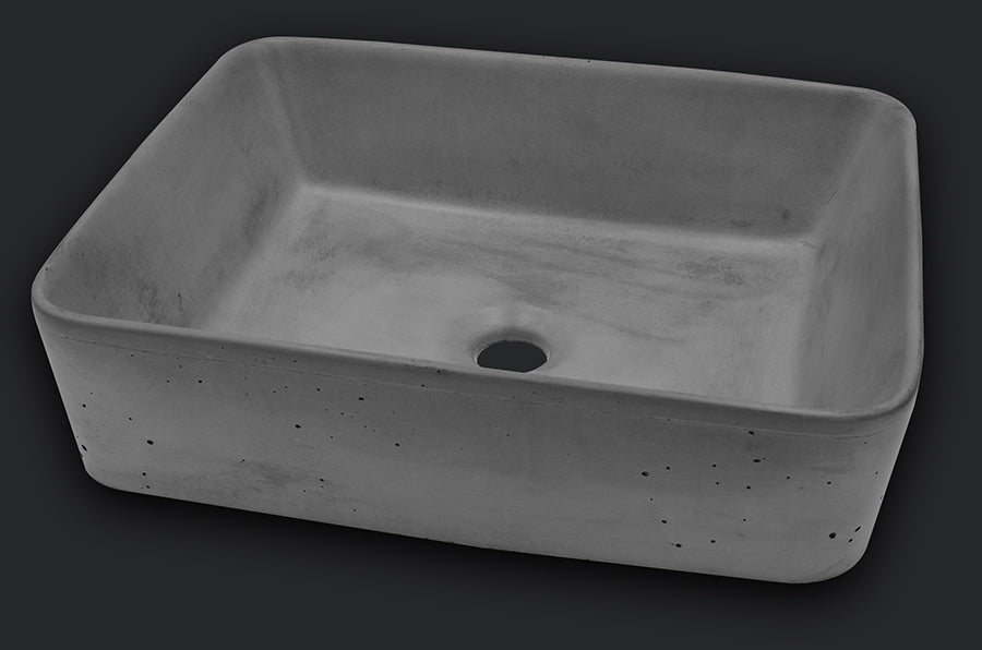 Rectangular Vessel Sink - SlabHaus