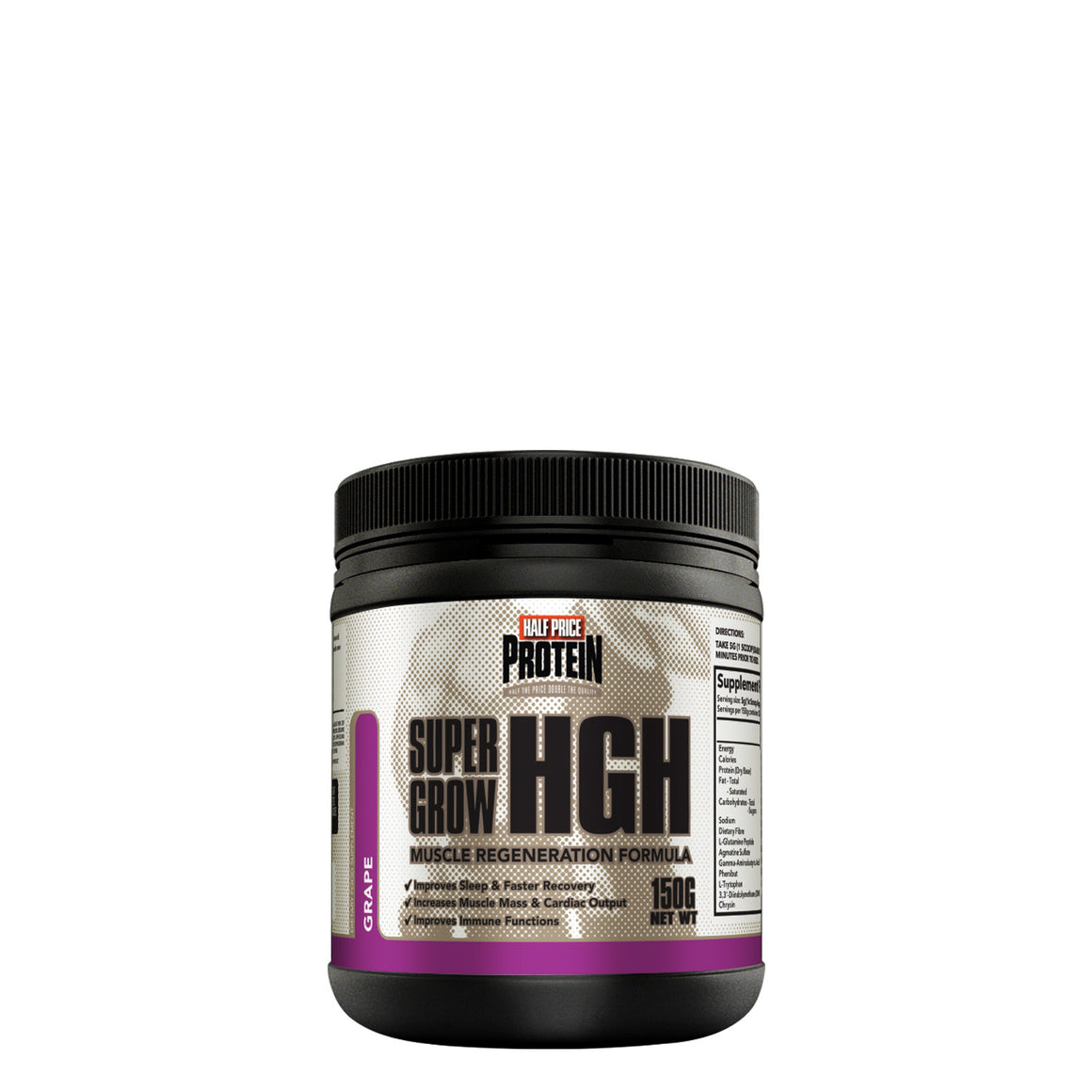 Half Price Protein - Super Grow HGH 150g
