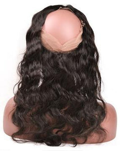 Brazilian Body Wave 360 Lace Frontal