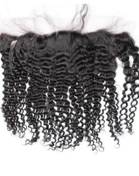 Brazilian Kinky Curly Lace Frontal