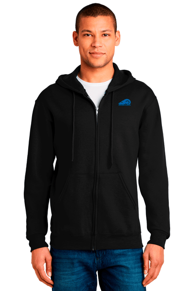 Golden Fleece Men's Zip Up Hooded Sweatshirt - BODIEWEAR