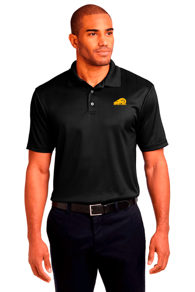 Golden Fleece Jacquard Performance Polo - BODIEWEAR