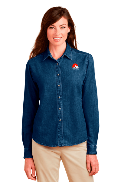 WBCA Ladies Denim Shirt - BODIEWEAR