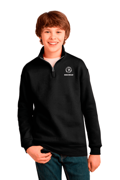 Bodiewear Youth 1/4-Zip Collar Sweatshirt - BODIEWEAR
