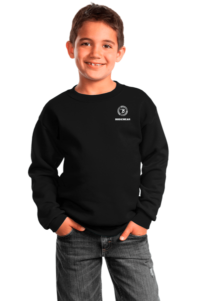 Bodiewear Pool Shark Youth Crewneck Sweatshirt - BODIEWEAR