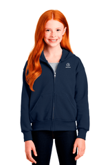 Bodiewear Youth Full-Zip Hooded Sweatshirt