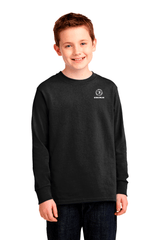Bodiewear Youth Long Sleeve Cotton Tee - BODIEWEAR