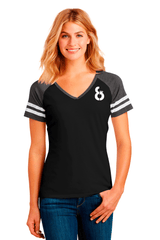 Ladies Game V-Neck Tee - BODIEWEAR