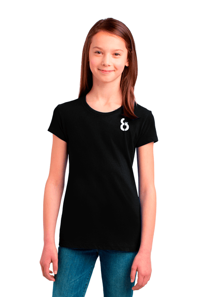 Girls 8-Ball Concert Tee