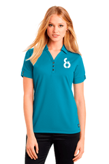 8-Ball Glam Polo - BODIEWEAR