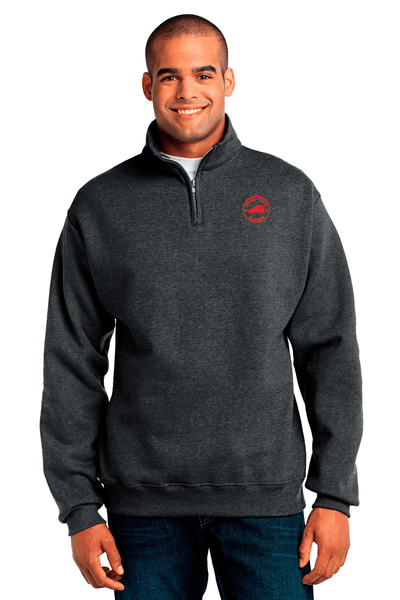 Golden Fleece 1/4 Zip Cadet Collar Sweatshirt