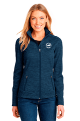 Golden Fleece Ladies Digi Stripe Fleece Jacket - BODIEWEAR