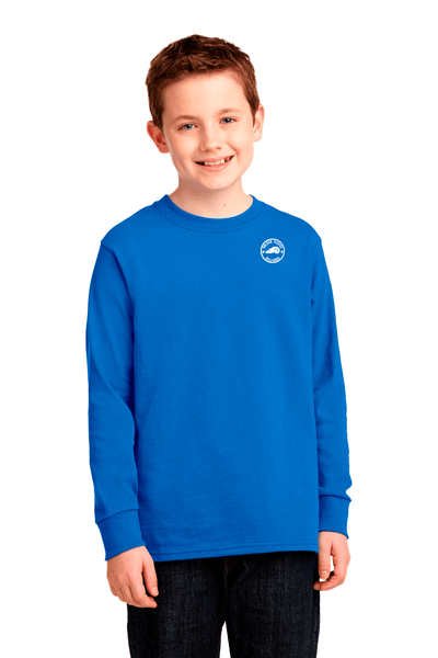Golden Fleece Youth Long Sleeve Cotton Tee - BODIEWEAR