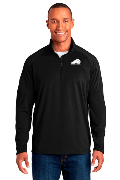Golden Fleece Stretch 1/2 Zip Pullover - BODIEWEAR