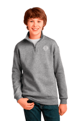 Youth 1/4-Zip Collar Sweatshirt
