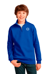 Youth 1/4-Zip Collar Sweatshirt - BODIEWEAR