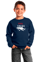 Pool Shark Youth Crewneck Sweatshirt - BODIEWEAR