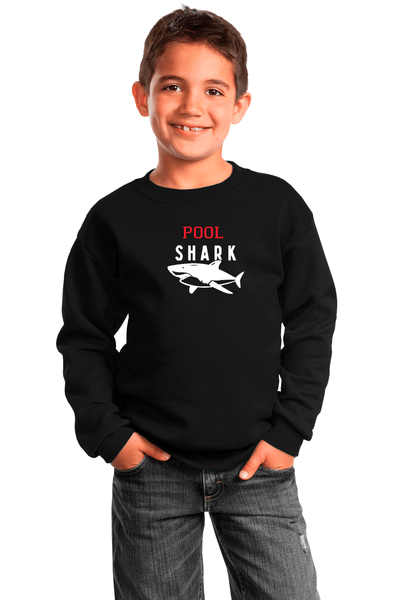 Pool Shark Youth Crewneck Sweatshirt