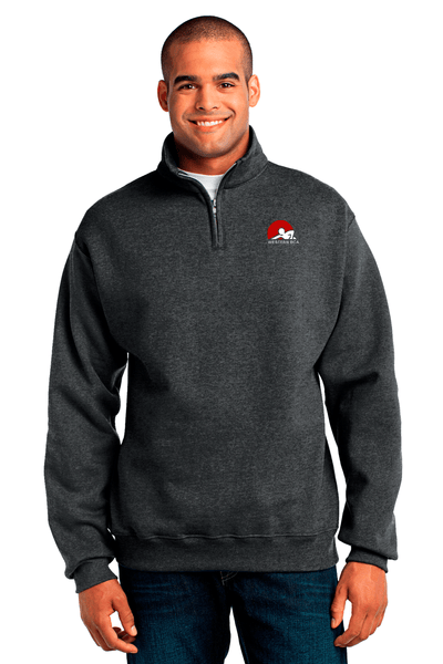 WBCA 1/4 Zip Cadet Collar Sweatshirt