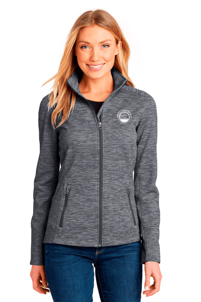 WBCA Ladies Digi Stripe Fleece Jacket - BODIEWEAR